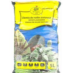 Kik Krajewscy 5l Ziemia podłoże do roślin zielonych gotowa do użycia +nawóz wieloskładnikowy